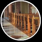 ławy koscielne producent stolarka sakralna